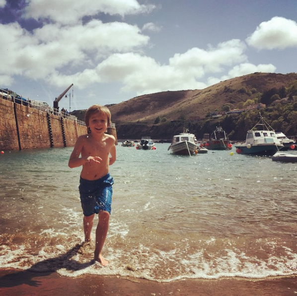 Enjoying the summer at Bonne Nuit Bay